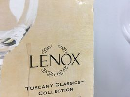 Lenox Tuscany Classics Collection 3x White Wine Glasses Orig Box Replacement image 4