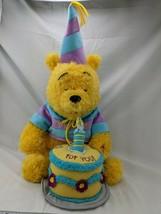 "Disneyland Winnie the Pooh Plush Happy Birthday Musical 20"" Stuffed Anim... - $44.95"