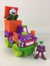 Imaginext DC Super Friends The Joker Surprise Vehicle Jack In Box 2017 Mattel - $28.66