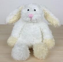 """2010 Manhattan Toy Cozies White Tan Bunny Rabbit Plush Bean Bag Toy  7"""" - $17.81"""
