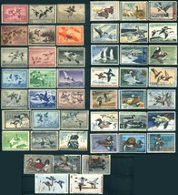 45+ USA #RW Migratory Bird Hunting Duck Stamp Collection 1936-1984 MINT ... - $523.80