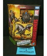 Transformers Dinobot Kingdom War Of Cybertron Voyager Class Figure Takara Tomy - $39.88