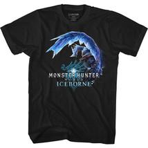 Monster Hunter World Iceborne Icy Dragon Capcom Video Game Adult T Shirt  - $19.46+