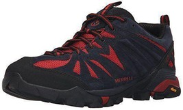 Merrell  Capra Men's Lace Up Navy/Red Hiking Shoes  Sz 13 M **New** - $72.67