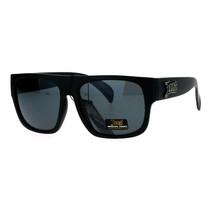 Locs Sunglasses Mens Black Square Frame Designer Fashion Shades - $10.95