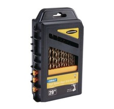 WARRIOR 135° Split Point Cobalt Drill Bit Set, 29 Pc. - $72.74