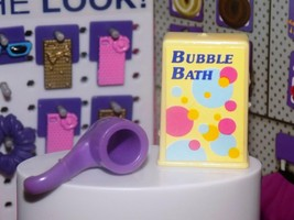 Barbie Dress up accessories vintage box of yellow bubble bath with bubbl... - $2.99