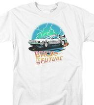 Back to the Future Retro 80s T Shirt Classic McFly Doc Brown DeLorean UNI1127 image 3