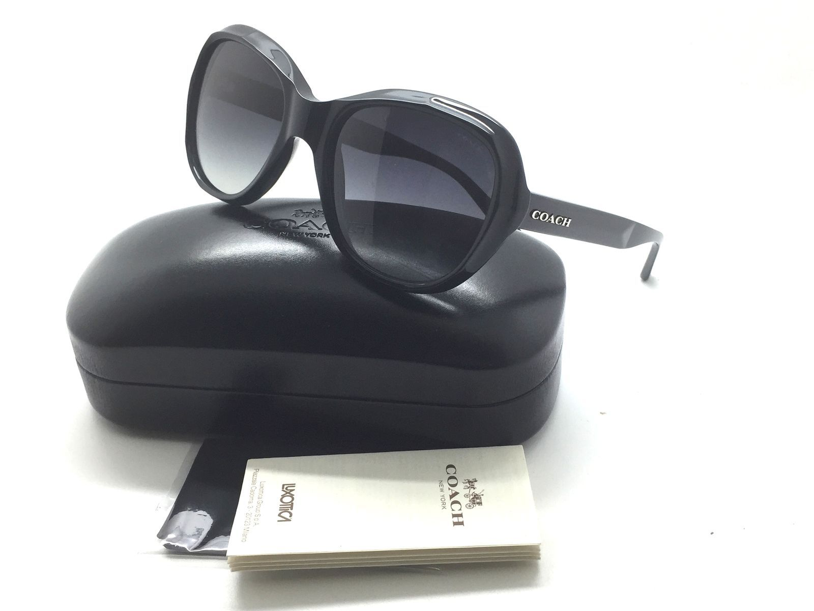 97ee12f5221 Coach sunglasses HC8197 5002T3 55mm Black and 50 similar items