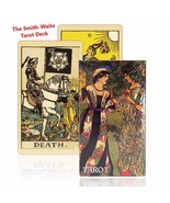 Tarot Cards Deck Factory Made Vintage with Colorful Card Box Game HQ - $13.10