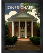 "Meredith College ""Jones Chapel"" 13 x 16 Art Deco Framed Print  - $39.95"