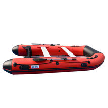 BRIS 12ft Inflatable Boat Dinghy Raft Pontoon Rescue & Dive Raft Fishing Boat image 5