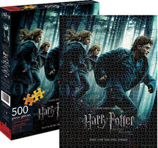 Harry Potter and the Deathly Hallows Part 1 500 Piece Jigsaw Puzzle NEW ... - $15.47