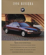 1996 Buick RIVIERA sales brochure catalog folder US 96 Supercharged - $8.00