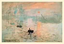 Impression Sunrise by Claude Monet - Art Print - $19.99+