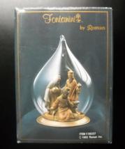Fontanini by Roman Christmas Ornament 1992 Three Kings Hand Blown Glass ... - $15.99