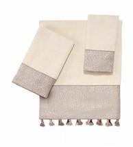 Avanti Beaufort Ivory 27 x 50 Bath Towel -Only T4101770 - $24.74