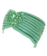 Crystal Jeweled Knit Headband / Turban / Ear Warmer - In 5 Gorgeous Colors! - $14.95