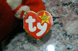 "Vintage Ty Beanie Babies Snort "" The Bull "" Hang Tag/Tush Tag 1995 PVC Pellets image 6"