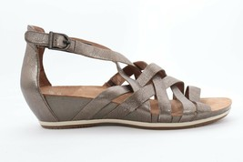 Dansko Vivian Nappa Pewter Sandals Women's Size EU 40( EPB )3911 - $95.00