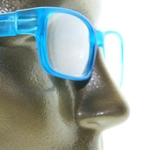 Reading Glasses Modernist Frosted Simple Tech Spring Hinge Frosted Aqua +2.00 - $18.00