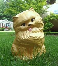 Vintage Ceramic Golden Yellow Persian Cat Statue - $75.00