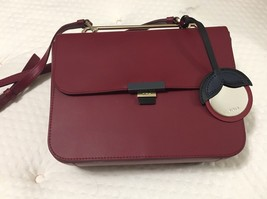 Woman crossbody bag FURLA ELISIR Small red leather shoulder Bag, CILIEGI... - $339.00