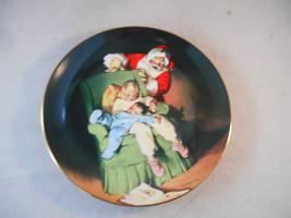 Edwin M. Knowles 1990 Christmas Vigil Collector's Plate Sundblom Santa S... - $14.99