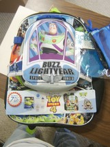BUZZ LIGHTYEAR TOY STORY 4 BACKPACK-LUNCH BAG SET OF 7 PIECES NWT :B19-5 - $28.99