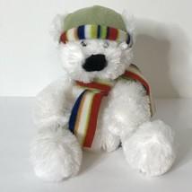 "Russ Snowy Days Nanuk Teddy Bear Plush Stuffed Animal Beanie Riley Austin 8"" - $19.80"