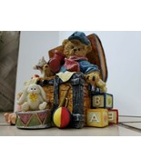 """The Toy Box"" Bear Essentials Heavy Resin Figurine Christmas Decor Teddy... - $19.80"