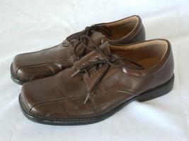 SmartFit Toddler Boy Shoes Lace Up Brown Size 4... - $15.99