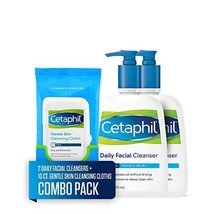 Cetaphil Daily Facial Cleanser for Normal to Oily Skin, Two 16-oz. Bottl... - $28.58