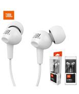JBL C100Si Stereo Wired Headphones Deep Bass Music Headset In-ear Earpho... - $35.64
