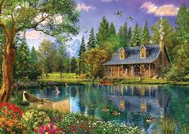 Crystal Lake Cottage Cross Stitch Pattern***LOOK*** - $4.95