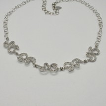 Silver Necklace 925 Wings Of Butterfly With Zircon By Maria Ielpo Made IN Italy image 2