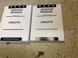 2004 DODGE DAKOTA TRUCK Service Repair Workshop Shop Manual BRAND NEW Set - $253.34