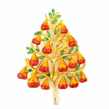 Christopher Radko Partridge in a Pear Tree Holiday Brooch - $34.00