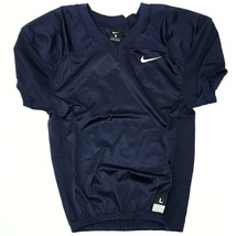 New Nike Stock Vapor Football Jersey Youth Boy's Large Navy Blue Practic... - $9.89