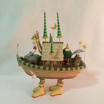 Patience Brewster Krinkles Noah's Ark Figurine Whimsical Resin Dept. 56 ... - $54.45