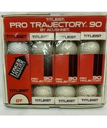Titleist Pro Trajectory 90 Acushnet Golf Balls 12 Ct New In Box Pro Shop... - $59.99