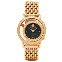 Versace VDA040014 Venus Black Dial Ladies Watch - $2,566.46