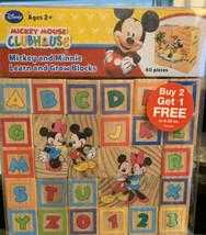 Disney  Learning & Grow Blocks Wooden Blocks - $14.88