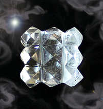 Haunted Free W $100 27X Super Moon Lemurian Power Cube Crystal!! Cassia4 - $0.00