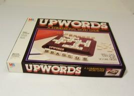 Vintage UpWords Three Dimensional Word Game Milton Bradley 1983 Complete - $9.99