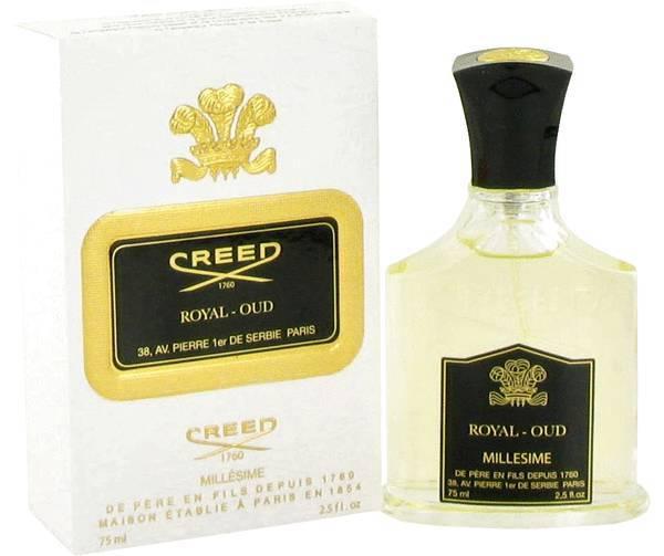 Creed royal oud 2.5 oz perfume