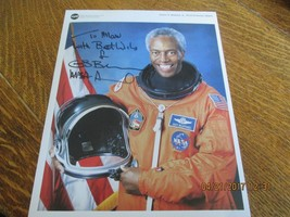 Signed Autographed NASA Photograph of Astronaut Guion S. Bluford Jr   - $20.00