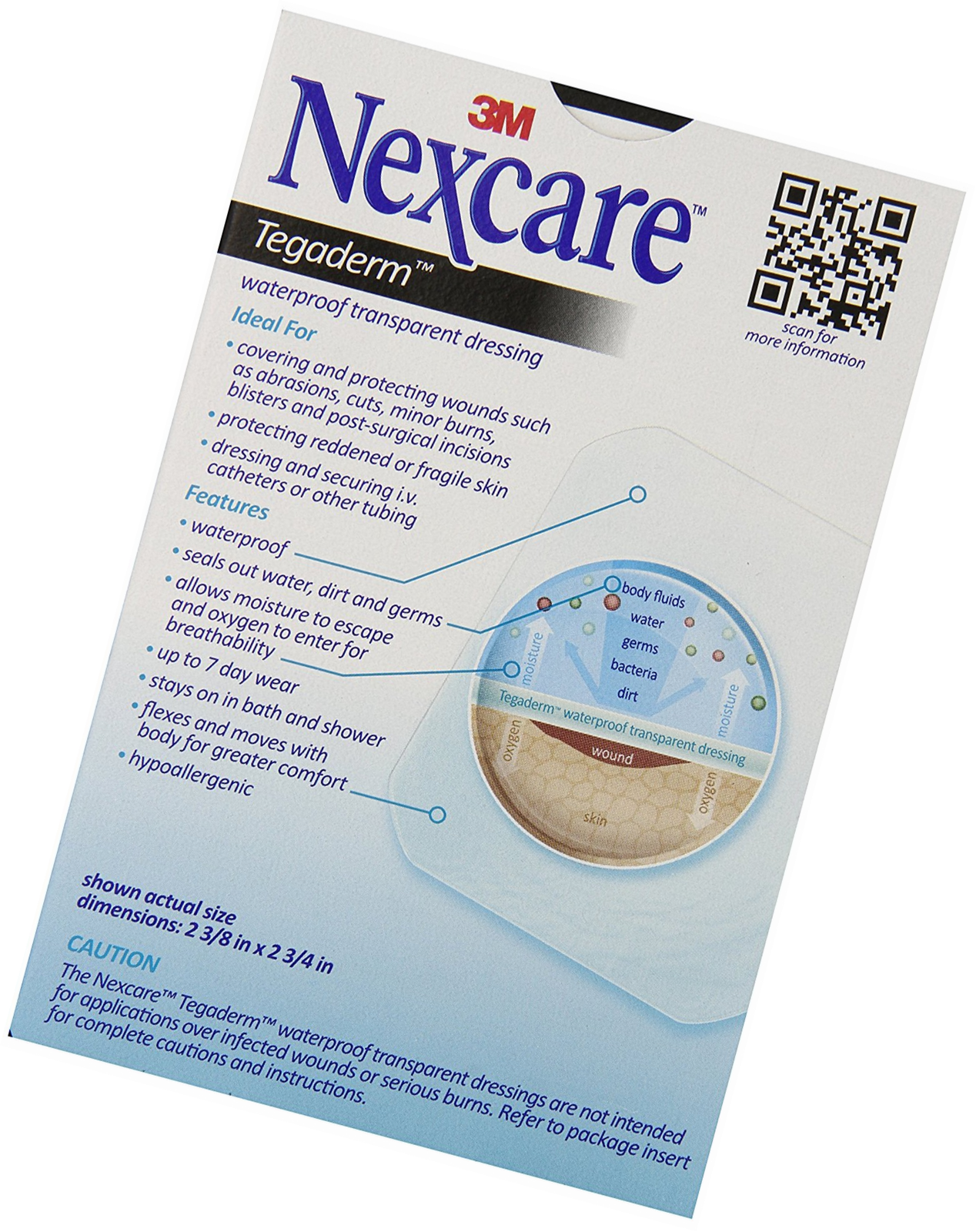 3m Nexcare Tegaderm Waterproof Transparent And Similar Items
