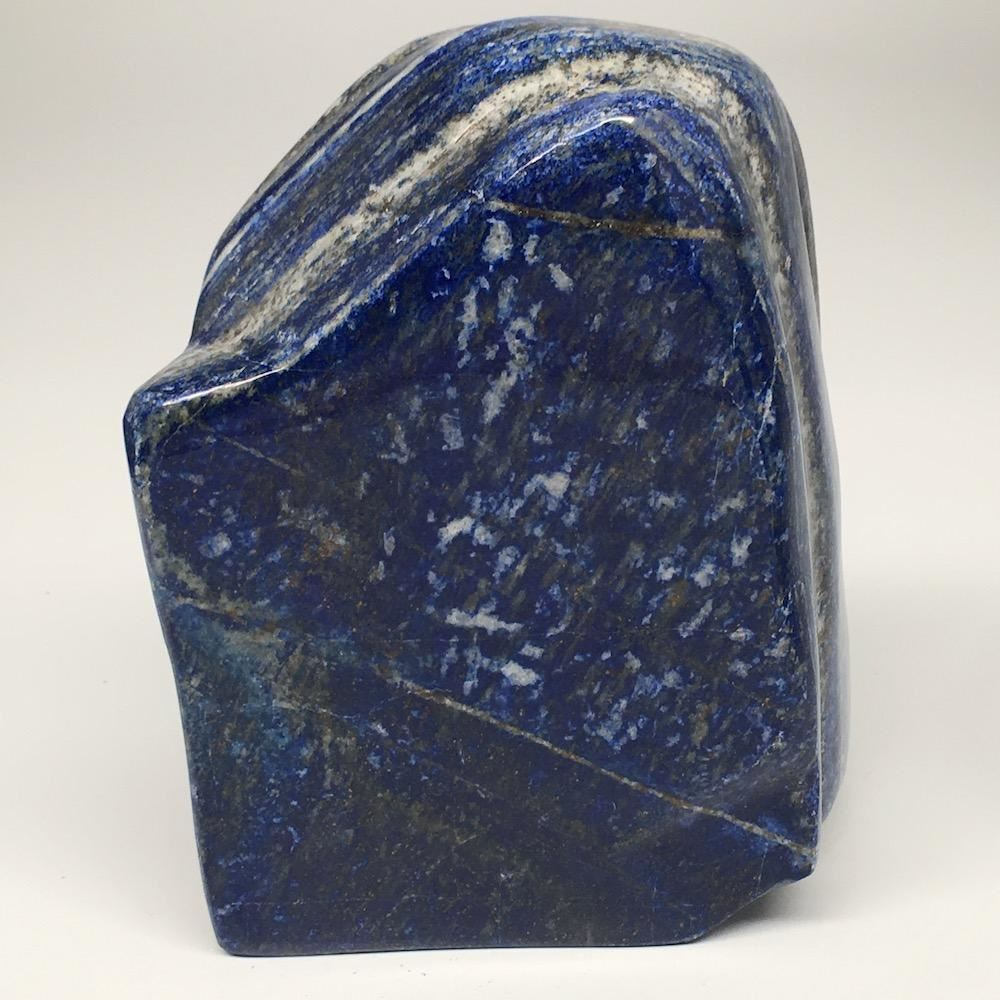 "5.5""x4""x1.8"", 1402g,Natural Polished Freeform Lapis Lazuli @Afghanistan,PL105"