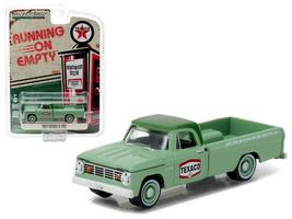1967 Dodge D-100 Texaco Pickup Truck 1:64 Diecast Model Car by Greenlight - $14.27